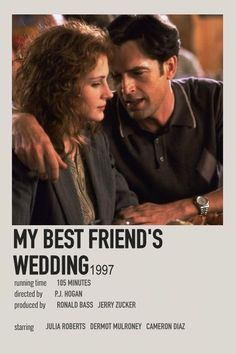 Best Friend Wedding, My Best Friend, Best Friends, Minimal Movie Posters, Film Posters, Movies To Watch, Good Movies, Book List Must Read, Film Polaroid