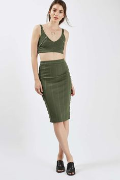 Ring Detail Bandage Crop Top and Skirt - Suits & Co-ords - Clothing - Topshop USA
