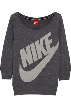 Gym Vintage cotton-blend jersey sweatshirt #sweater #offduty #covetme #nike