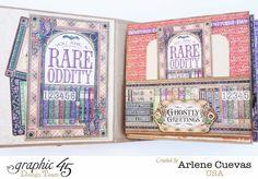 MiniAlbum_RareOddities_ArleneCuevas_Graphic45_Photo1