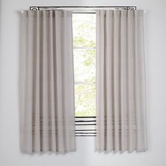 Ripple Curtains (Grey) | The Land of Nod