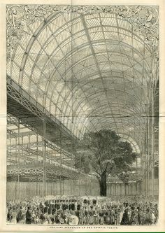 The Crystal Palace, Hyde Park, London, 1851.
