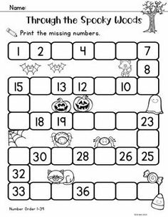This pack is filled with a variety of print and go math and literacy activities…