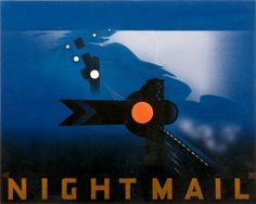 Night Mail Poster.