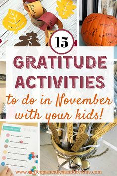 15 Gratitude Ideas to do in November #traditions #family #gratitudeactivities #thankfulness Thanksgiving Activities, Thanksgiving Crafts, Thanksgiving Decorations, Holiday Decor, Gratitude Ideas, Family Movie Night, Activities To Do, Family Traditions, Holiday Recipes
