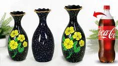 Plastic bottle flower vase making - Look like ceramic vase || প্লাস্টিকের বোতল দিয়ে ফুলদানি তৈরি - YouTube Plastic Bottle Flowers, Plastic Bottles, Flower Vase Making, Flower Vases, Diy Bottle, Bottle Crafts, Ceramic Flowers, Ceramic Vase, Diy Crafts For Home Decor