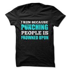 Cool #TeeForWaubay I RUN BECAUSE ...… - Waubay Awesome Shirt - (*_*)