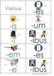 Week 19 printables: Latin Third Declension Packet and Science.