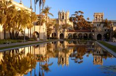 Balboa Park in San Diego, CA.  This humongous area of land has some pretty stunning architecture.  Check it.