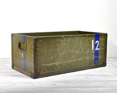 Vintage Industrial Extra Large Crate / 1940's Air by havenvintage, $68.00