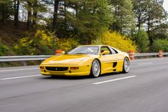 Another sick Ferrari F355, although Yellow is my least favorite color. B