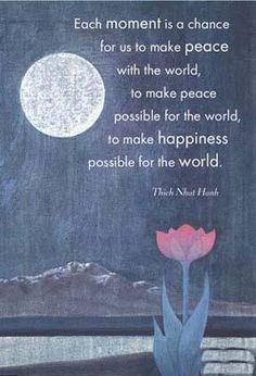 Being Peace by Thich Nhat Hanh...a profound book that won the Nobel Peace Prize during the Vietnam War...