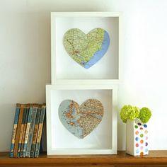 Map My Heart Craft