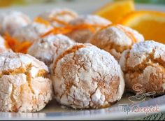 Deliciosas galletas arrugadas con coco y naranja - nettetipps.de - Kochrezepte von A bis später Z - Cut Out Cookies, How To Make Cookies, Yummy Cookies, Making Cookies, Shortbread Recipes, Coconut Recipes, Shaped Cookie, Easy Cookie Recipes, Cupcakes
