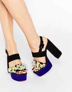 Colour-blocked and premium? Meet the shoe stars of ASOS Black x Amie Robertson's dreamy collab