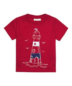 This Red Lighthouse Tee - Infant, Toddler & Boys by JoJo Maman Bébé is perfect! #zulilyfinds