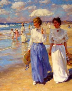 As Cores Da Arte: Gregory Frank Harris Art And Illustration, Illustrations, Paintings I Love, Beautiful Paintings, Art Paintings, Art Gallery, Art Ancien, Victorian Art, Classical Art