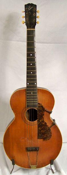 rare guitars | Vintage Gibson L-1 Archtop Acoustic | Vintage Acoustic Guitar