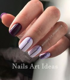 Great Classy Short Nails Art Designs Great ready to book your next manicure, because this Pretty Nail Designs, Short Nail Designs, Simple Nail Designs, Nail Art Designs, Easy Nails, Cute Nails, Pretty Nails, Nailed It, Gel Nagel Design