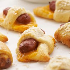 Pigs in a Cheese Blanket