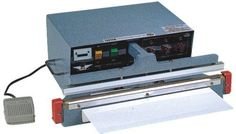 AIE300A1 14 Automatic Programable Impulse Bag Sealer w 2mm Seal Includes Free ABC Office Tech Support * You can get additional details at the image link.