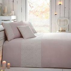 RJR.John Rocha Designer pale pink 'Grace' bed linen- at Debenhams.com