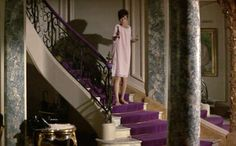 purple staircase from How to Steal a Million