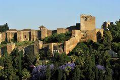 La Alcazaba de Málaga, un punto rústico para Lanza del Sol