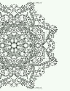 color Mandala Coloring Pages, Coloring Book Pages, Printable Coloring Pages, Mandala Art, Flower Mandala, Zentangle Patterns, Zentangles, Doodle Art, Bunt
