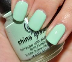 "China Glaze - ""Mint"""