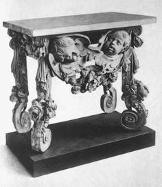 Table Grinling Gibbons