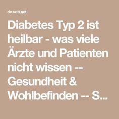 Diabetes Typ 2 ist heilbar - was viele Ärzte und Patienten nicht wissen -- Gesundheit & Wohlbefinden -- Sott.net
