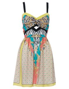 Bardot Scarf Cut Dress