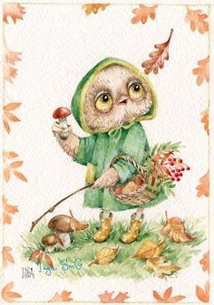 Картинки по запросу совушки Инги Измайловой (Пальцер)