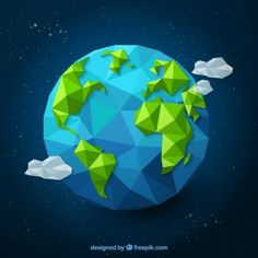 Polygonal earth