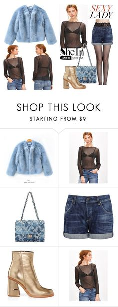 """""""SheIn"""" by elza-345 ❤ liked on Polyvore featuring chuu, Citizens of Humanity and TIBI"""