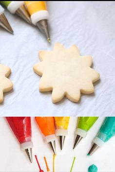 The perfect, easy royal icing recipe for sugar cookie decorating, made with meringue powder. The perfect, easy royal icing recipe for sugar cookie decorating, made with meringue powder. Cookies Cupcake, Best Sugar Cookies, Christmas Sugar Cookies, Sugar Cookies Recipe, Holiday Cookies, Christmas Desserts, Christmas Recipes, Christmas Parties, Decorated Sugar Cookie Recipe