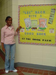 Book Fair Bulletin Board Idea