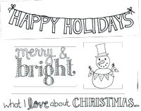 Free Holiday Doodles Download by Tomi Ann Hill, as seen in Creating Keepsakes Nov/Dec 2012 issue!