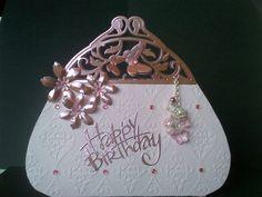 Birthday Card using Tonic Dies