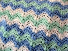 Love the color choices in this version of the Crochet Ripple Afghan Pattern by Red Heart.    http://www.redheart.com/free-patterns/ripple-afghan for pattern