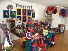 Festa super heroi