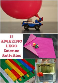 15 fun and easy LEGO science activities for kids #Science