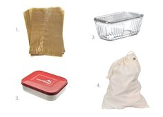 Plastic Alternatives for the Kitchen - Wax Paper Snack Bags