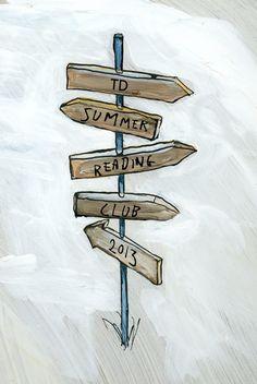 "TD Summer Reading Club Image - ""Explore Far"" Reading Club, Summer Fun, Toronto, Summertime, Amy, Sign, Explore, Book, Image"
