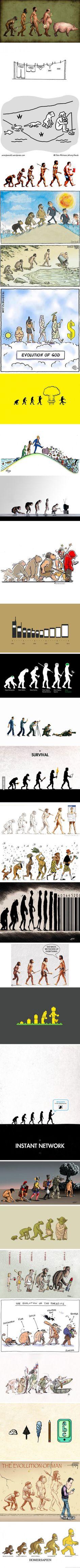 29 Satirical Evolution Cartoons To Celebrate Darwin Day