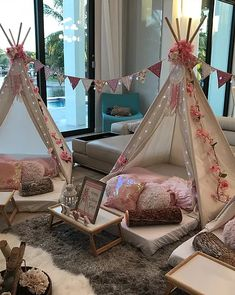 My Little Party Miami - Teepee Party Kid Parties, Slumber Parties, Sleepover, Birthday Parties, Teepee Party, Teepee Tent, Picnic Decorations, Pajama Party, Beach Themes