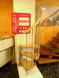 Muestra del modelo de  escalera Kubo Enesca.es