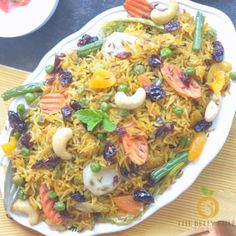 Vegetarian Breakfast Recipes, Vegan Dinner Recipes, Healthy Crockpot Recipes, Veg Recipes, Vegan Recipes Easy, Indian Food Recipes, Cooking Recipes, Vegan Vegetarian, Vegetable Biryani Recipe