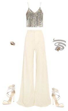 Untitled #36 by sbekandy on Polyvore featuring polyvore, moda, style, Alice + Olivia, Etro, Giuseppe Zanotti, Cartier, fashion and clothing